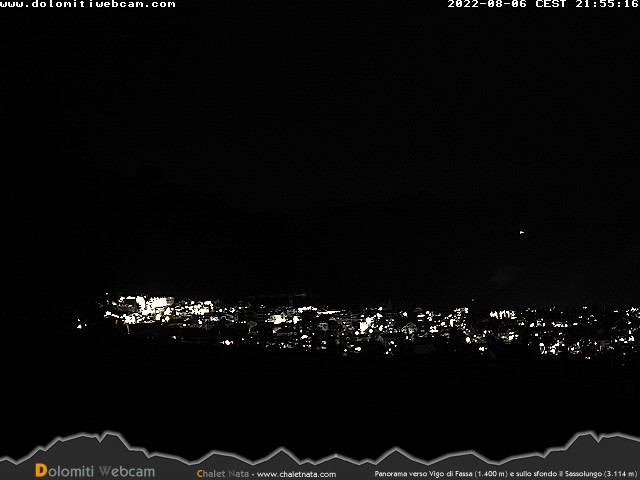 Dolomiti Webcam Pozza di Fassa
