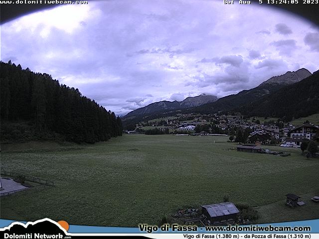 Webcam Vigo di Fassa Pozza di Fassa