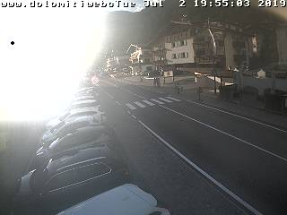 Immagine Live Canazei webcam